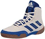 adidas Tech Fall 2.0 Youth Wrestling Shoes (White/Royal, Numeric_1_Point_5)