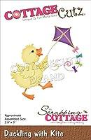 """CottageCutz Dies-Duckling W/Kite 2.9""""X3"""""""