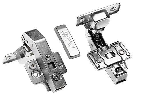 4 x GTV Paralleles Hydraulikscharnier Scharnier Soft Close Türscharniere