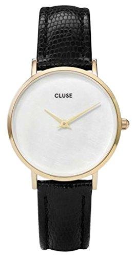 Cluse Reloj Analógico para Mujer de Cuarzo con Correa en Cuero CL30048