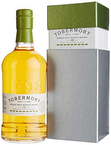 Tobermory 15 Years Old Spanish Oak Whisky (1 x 0.7 l)