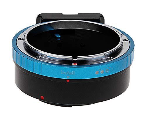 Fotodiox Pro Lens Mount Adapter Compatible with Canon FD and FL Lenses on Canon EOS M EF-M Mount Mirrorless Cameras