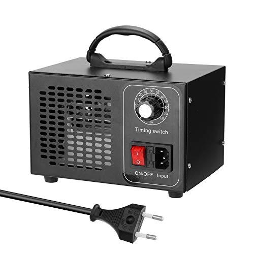 Kecheer Maquina ozono,Generador ozono hogar purificador de aire 32000 MG/H,Desodorizador para industrial/casa,Ozonizador de aire eliminar el olor