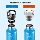 Zoom IMG-2 omorc bottiglia acqua in acciaio
