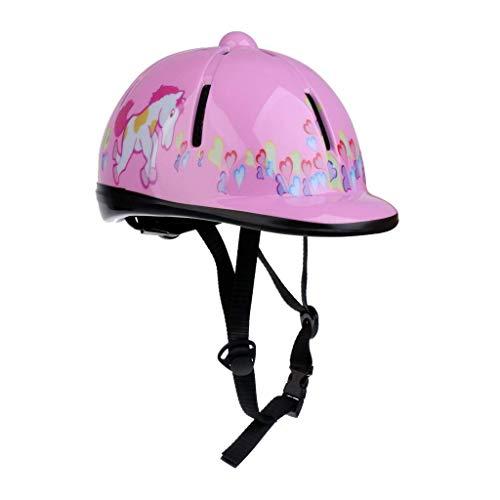 Heemtle Kinder Kinder einstellbare Pferd Reiten Hut/Helm Kopf Schutzausrüstung 8 Farben optional (einstellbar:48-54CM)