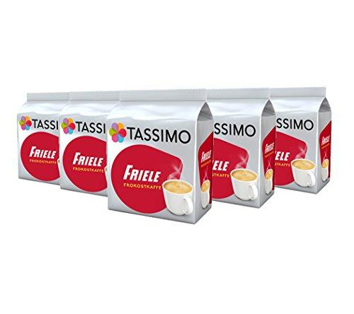 TASSIMO Friele Breakfast Kaffee Kapseln Refills T Discs Pods 5er Pack, 80 Getränke