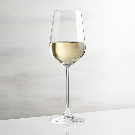 Hip White Wine Glass + Reviews | Crate and Barrel