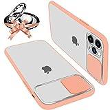 Funda Con Tapa Deslizable Para Cámara Compatible Con iPhone 12/12 Pro 6.1' Funda Protectora Antigolpe Carcasa PC y...