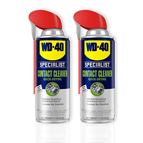 WD-40 Specialist Contact Cleaner Spray, Twin-Pack, 11 oz
