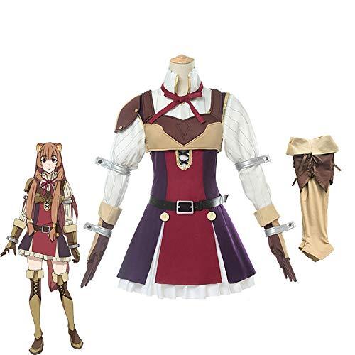 Anime Tate no Yuusha no Nariagari Disfraces de Cosplay Disfraz de Raphtalia para Mujer Disfraces de Cosplay Conjuntos completos