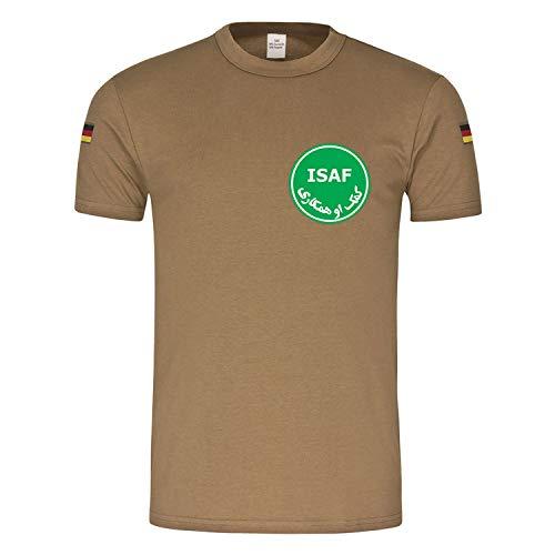 Copytec BW Tropen ISAF SpezlKrH EGB Spezialisierte Kräfte des Heeres Tropenshirt #15573, Farbe:Sand, Größe:XL