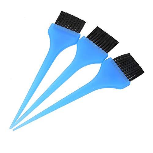 Longzhou 3pcs Couleur de Cheveux Teinte Pinceau de Teinture Ensembles de Pinceau Applicateur de Teinture Capillaire Professionnelle