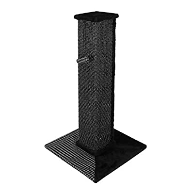 Nova Microdermabrasion Tall Cat Scratching Post Sisal Scratcher Post for Cats Kitty Kittens 32Inches