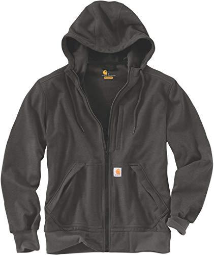 Carhartt Wind Fighter Sweatshirt Sudadera, Verde Oscuro, XS para Hombre