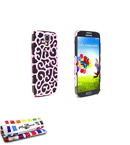 Hartschale schmal Samsung Galaxy S4[das Palace Premium] [Rosa] von MUZZANO + Eingabestift und Reinigungstuch Muzzano® angeboten–Der Schutz stoßfest ultimative, elegante und nachhaltige für Ihr Samsung Galaxy S4