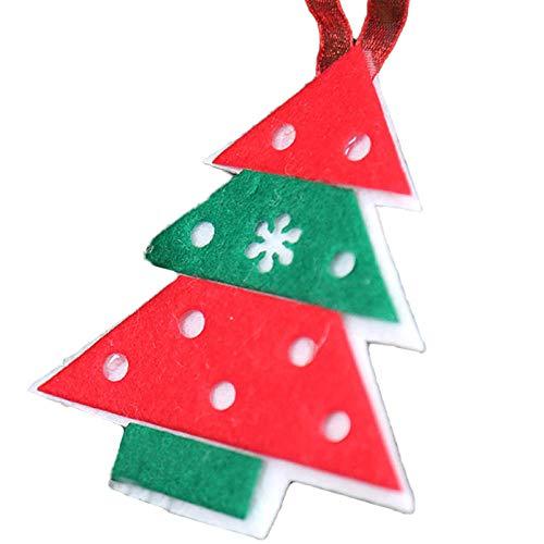 YJLT ornamenten sculpturen beeldje figuren decoraties 5 Stks Kerstdecoratie Hanger Kerstmis Kind Gift Leuke Hangende Laarzen Kerstmis Ornamenten Kerstboom Decoratie@At