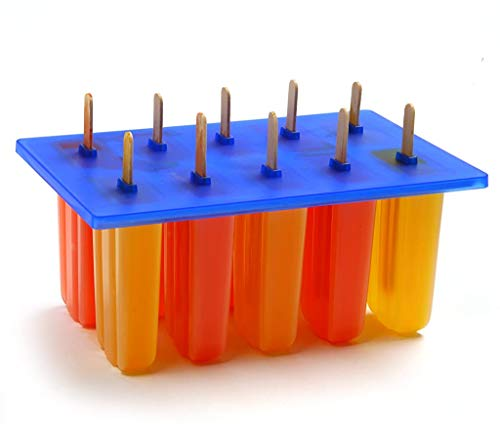 Popsicle Molds with 24 Wooden Sticks