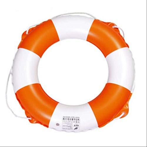 Mmydxd Schwimmring, Runde Aufblasbare PVC Schwimmen Schwimmer Ring, Rettungsring Mit Seil, Schwimmbad, Wasserpark, Strand Für Erwachsene