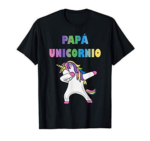 Mens Camiseta de Unicornio para Papa - Papa Unicornio Camiseta
