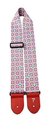 Holly Ugly Christmas Sweater Guitar Strap