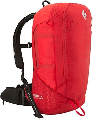 Black Diamond Halo 28 JetForce Avalanche Airbag Pack, Fire Red, Small/Medium by Black Diamond