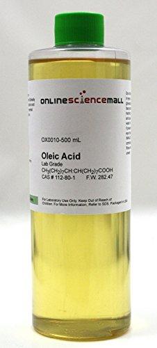 500mL of Oleic Acid - Lab Grade Reagent