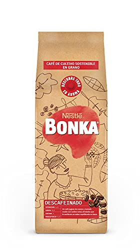 Nestlé Bonka Grano Descafeinado, Café Tostado, 500 Gramo