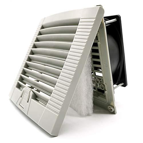 Ventilador 120mm X 120mm X 38mm AC 220V Extractor de Olores, Humo, Calor, Humedad Para Baño Cocina Garaje Armario Ascensor Ventilador de Techo y Pared – Silencioso - Rodamiento de Bolas