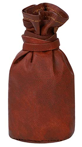 Ladies Leather Pouch Gusti Leder nature Small Coin Cash Change Holder Moneybag Purse Petite Bag Vintage Style Unisex Accessory Natural Brown A76b