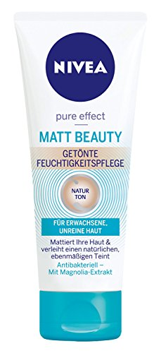 Nivea Pure Effect Matt Beauty getönte Feuchtigkeitspflege, 6er Pack (6 x 75 ml)