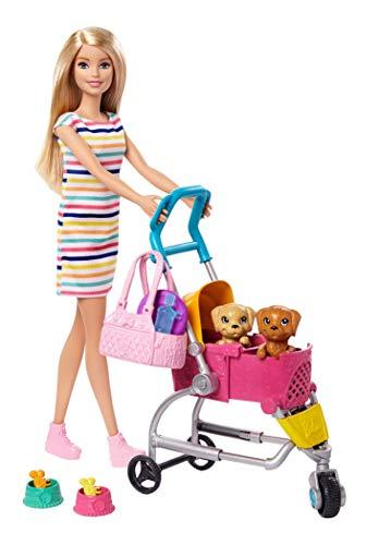 Barbie Stroll 'N Play Pups Doll Playset