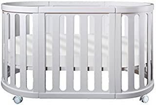 Cocoon Furniture Nest 4-in-1 Crib and Bassinet System in White