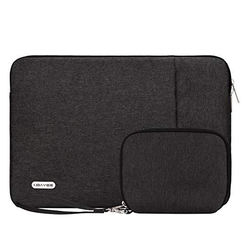 UBAYEE 13 Zoll Tasche Hülle Sleeve Kompatibel mit MacBook Pro 2019/2018/2017/2016/Air 2018, Dell XPS 13, Surface Pro 3/4/5/6 Wasserdicht Laptophülle Laptoptasche Schutzhülle mit Kleinen Fall
