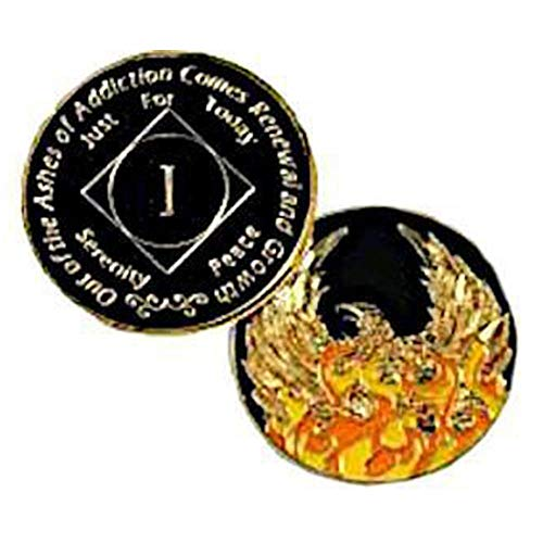 NA #N26 Medallion Out of Ashes Phoenix Yearly Medallion (Yrs 1-30)