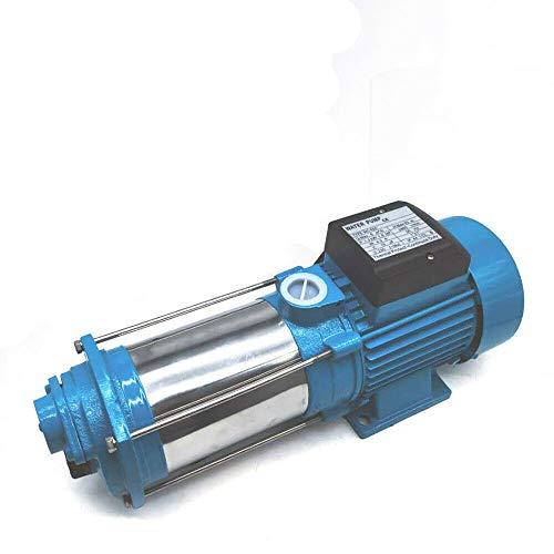 Wangkangyi Profi Gartenpumpe Kreiselpumpe Wasserpumpe Hauswasserwerk pumpe mit Druckschalter Trockenlaufschutz, 1300/2200/2500W, Max Head 98/100/110m (1300W)