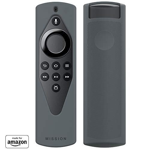 All New, Made for Amazon Remote Cover Case, for Alexa Voice Remote Lite - Grey Stone