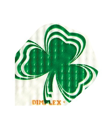 Uns Dartpfeile, 3Sets (9Flights) Dimplex Standard Irland, Irisch, Irland, Kleeblatt, Shamrock Dart Flights