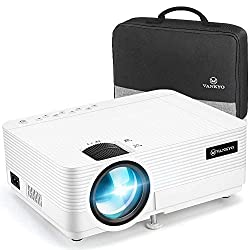 SUPERIOR WATCHING EXPERIENCE: Leisure 470 is 80% brighter than other equivalent projectors. MStar Advanced Color Engine and 4000: 1 contrast provide vivid color and powerful contrast of images. Native resolution is 1280 * 720P, with 1920x1080P suppor...