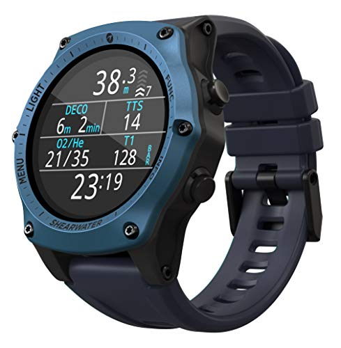 SHEARWATER RESEARCH Teric Wrist Dive Computer (Blue)
