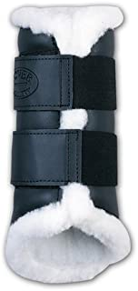 Dover Saddlery Premium Sport Boots with Fleece Lining, Large, Black