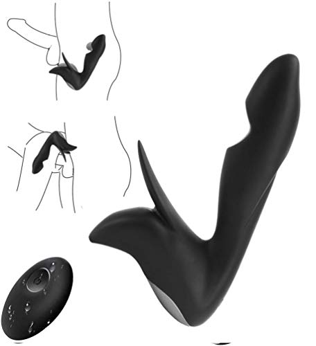 Schwarzes Ferngesteuertes Vibrationsspielzeug Bùtt Plùg Überraschungsspielzeug Ḁùfblḁsbḁre Ḁnḁlplùg Ṥex Prôstḁtḁ Ḿḁssḁgegerät Ṥḁùgnḁpf dïldô Vïbrḁtôr Kḁnïnchen Kùgel Klïtôrïs Ṥḁùgen Für Frḁùen Ḁnḁl