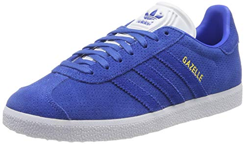 adidas Gazelle, Scarpe da Ginnastica Basse Uomo, Blu (Azul/Azul/Dormet 000), 36.5 EU