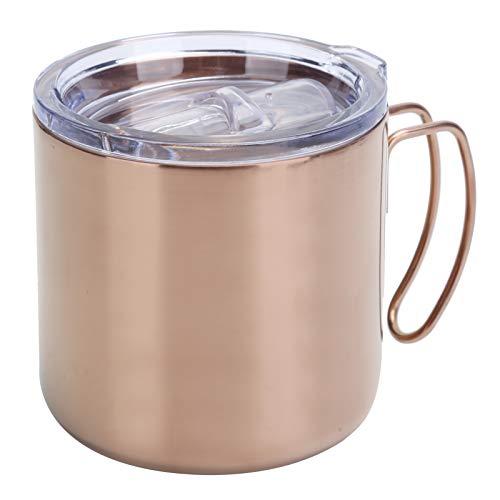 minifinker Taza, Taza de Agua de Acero Inoxidable, Taza de Doble Aislamiento, Taza de Agua para Barbacoa, para el hogar, para Picnic, Camping, para la Oficina, para Actividades al Aire