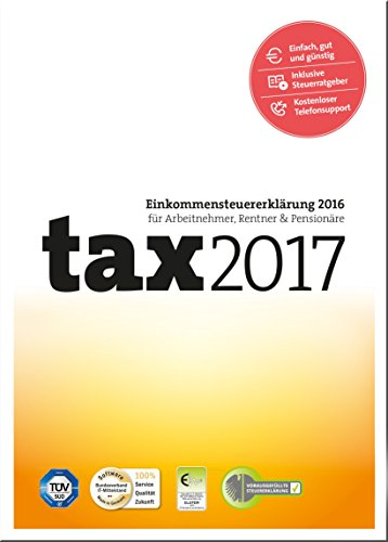 tax 2017 (für Steuerjahr 2016) [PC Download]