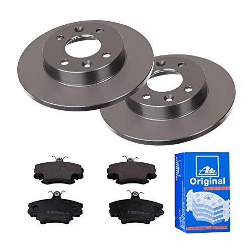 2 Bremsscheiben Ø238 Voll + Bremsbeläge ATE Vorne P-A-01-00598 Bremsanlage