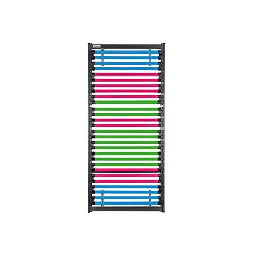 GOODSIDE BedBooster™ mit Softoption - Lattenrost aus Fiberglas mit 28 individuell anpassbaren Leisten (100 x 200 cm)