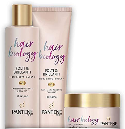 Pantene Hair Biology Folti e Brillanti, Set
