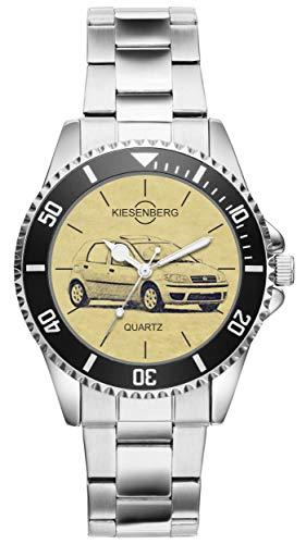 KIESENBERG Reloj – Regalos para FIAT Punto Modelo Cuidado 2003 – 2007 Fan 4282