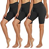 TNNZEET 3 Pack Biker Shorts for Women – 8' Buttery Soft High Waisted...