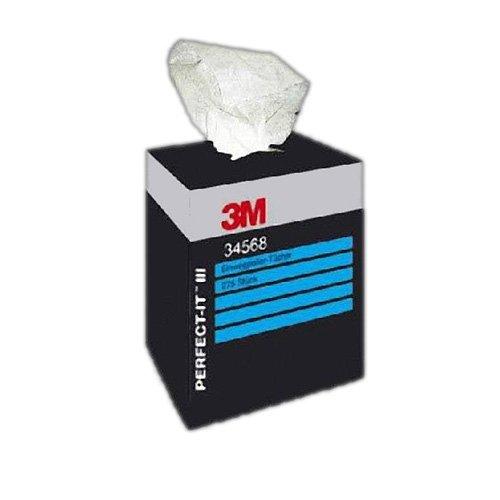 3M Perfect-it III Einwegpoliertücher 34568 (Karton mit 275 Stück)